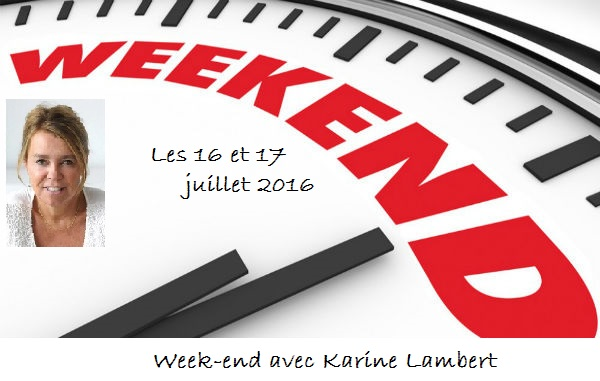 weekend Karine Lambert